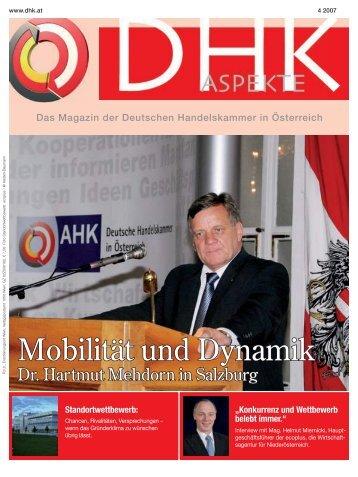eltefa 2007 - der Deutschen Handelskammer in Österreich