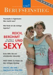 BERUFSEINSTIEG - Kommunikarriere.de