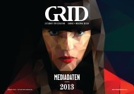 mediadaten 2013 - GRID Magazin
