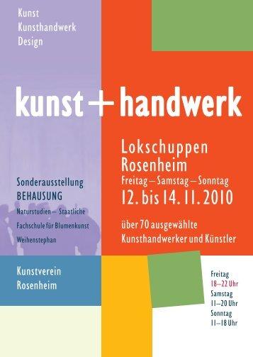 Flyer zur Ausstellung - Kunstverein Rosenheim