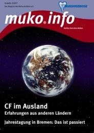 CF im Ausland - Mukoviszidose e.V.