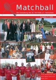 Clubzeitung 2, 2008 - Rot Weiss remscheid