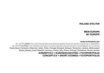my europe---pdf - Roland Stelter