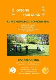 Kursprogramm Frühjahr/Sommer 2013 - Shambhala