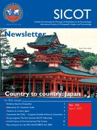 Issue 104, April 2007 - sicot
