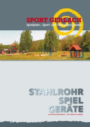 STAHLROHR SPIEL GERÄTE - Sport Gerlach