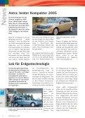 Ausgabe 1/ April 2005 - Neue Internetpräsenz - Page 6