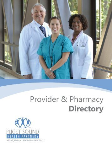Provider & Pharmacy Directory - Soundpath Health