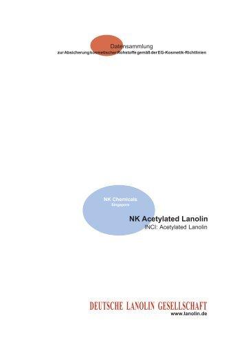 Datensammlung - Deutsche Lanolin Gesellschaft