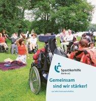 Gemeinsam sind wir stärker! - bei der Spastikerhilfe Berlin eG