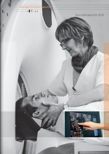 Geschäftsbericht SRFT 2010 - Spitalregion Fürstenland Toggenburg