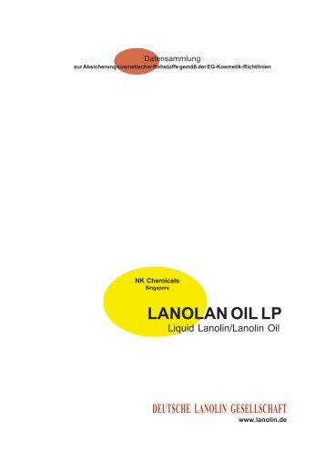 LANOLAN OIL LP - Deutsche Lanolin Gesellschaft