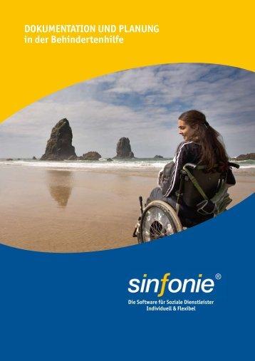 Dokumentation und Planung in der Behindertenhilfe - Sinfonie