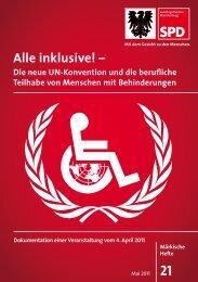 Alle inklusive! – - SPD-Landtagsfraktion Brandenburg