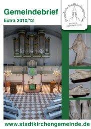 Gemeindebrief-Extra als PDF zum Herunterladen - der ...