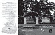 2012 Program - St. Michael's Cemetery