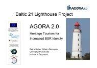 agora 2.0 - Latvian Tourism Development Agency