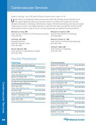 Cardiovascular Services - UCSF Medical Center