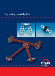 Top quality – made by CSN...