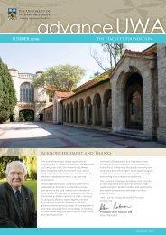 advanceUWA - The University of Western Australia