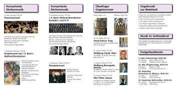 JS Bach: Weihnachtsoratorium Kantaten I und IV-VI - Überlinger ...