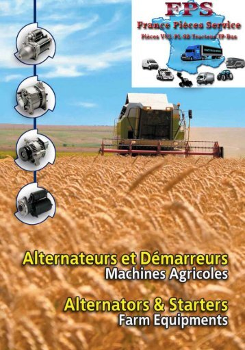 Démarreurs agricole