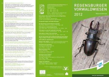 REGENSBURGER VORWALDWIESEN - LPV Regensburg