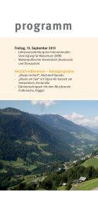 Einladungsbroschüre Walsertreffen 2013 - Biosphärenpark Großes ... - Page 6
