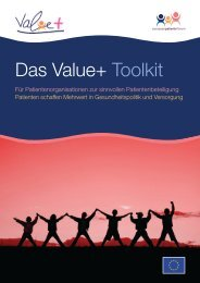 Das Value+ Toolkit - European Patients' Forum