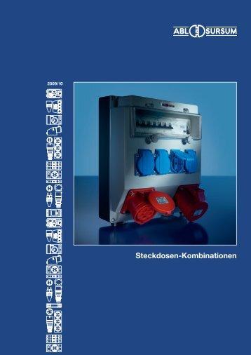 Steckdosen-Kombinationen - ABL-Polska