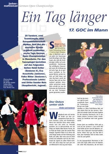German Open Championships - DTV