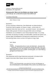 Mais - WDR 5
