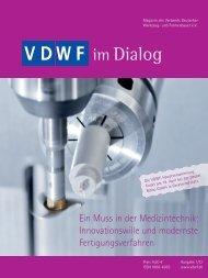 VDWF im Dialog 1/2012