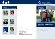 Flyer Werkstattrat - Werkstatt für behinderte Menschen Erding Freising