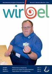 WIRBEL 22 - November 2011 - Werkstatt für behinderte Menschen ...
