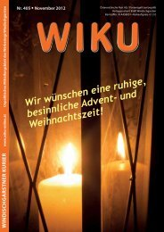 Ausgabe 405 - wiku-online.at