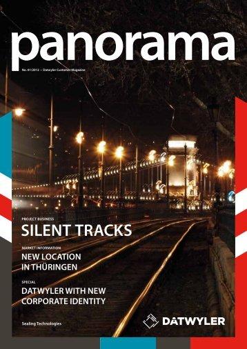"""""""Panorama"""" Nr. 1/2012 - Datwyler Sealing"""