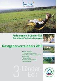 Gastgeberverzeichnis 2010 - Gärten ohne Grenzen