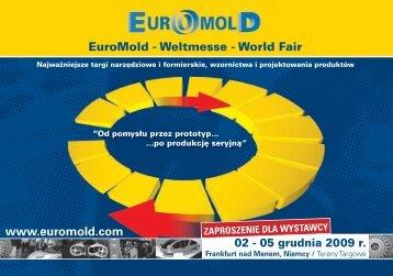 EuroMold - Weltmesse - World Fair www.euromold.com
