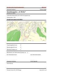 Sondernutzungsvorschriften (pdf) - Gemeinde Windisch