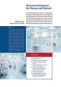 Reinraumtechnik pharmazeutische und biotechnologische Industrie - Seite 2