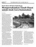 Kelola Lahan Perjuangan Untuk Kedaulatan Pangan - Page 6