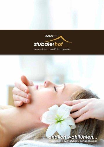 finden Sie alle unseren Massagen & Behandlungen - Hotel ...