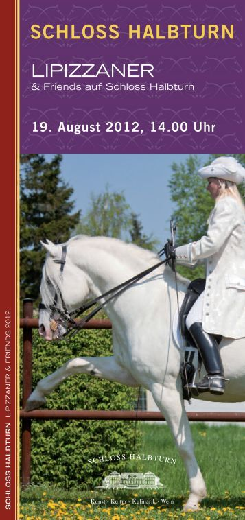 "Download FOLDER ""Lipizzaner & Friends 2012"" - Schloss Halbturn"