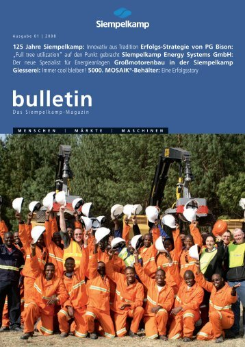 Bulletin 1/ 2008 - Siempelkamp