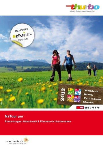 Broschüre NaTour pur 2013 downloaden - Thurbo