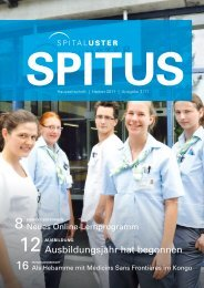 neues adminsystem - Spital Uster