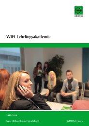 Der Folder zur Lehrlingsakademie als Download ... - WIFI Steiermark