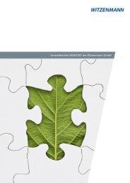 Umweltbericht 2006/2007 der Witzenmann GmbH