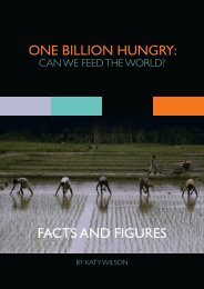 ONE BILLION HUNGRY: FACTS AND FIGURES